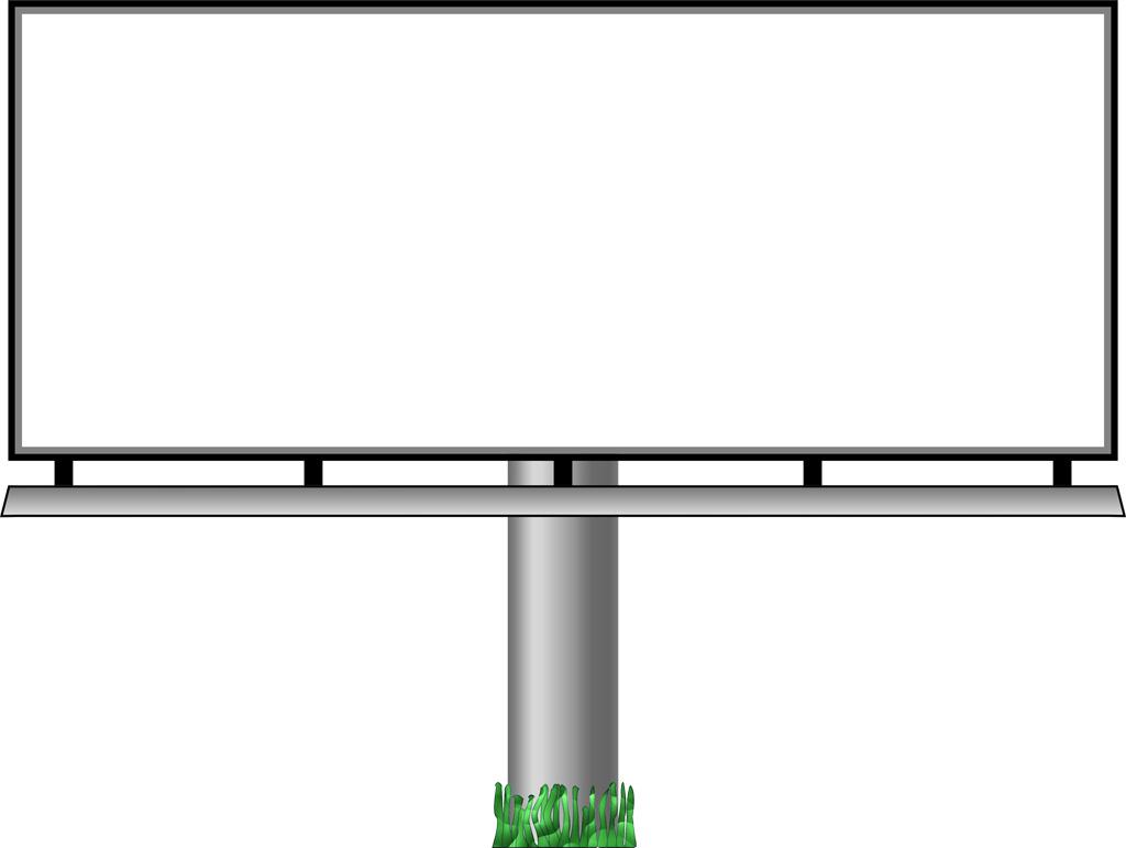 banner royalty free library Billboard vector led. Clip art transprent png