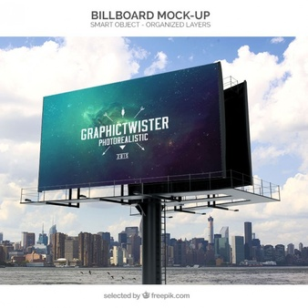freeuse library Vectors photos and psd. Billboard vector led