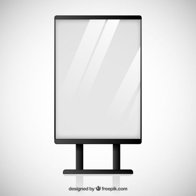 picture free Billboard vector led. Blank free dc prj