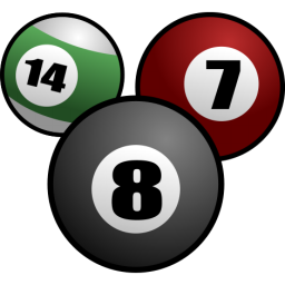 svg black and white download Billiard ball transparent free. Billiards clipart