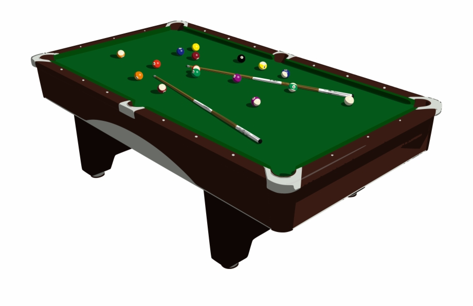 jpg stock Pool table pngtube . Billiards clipart