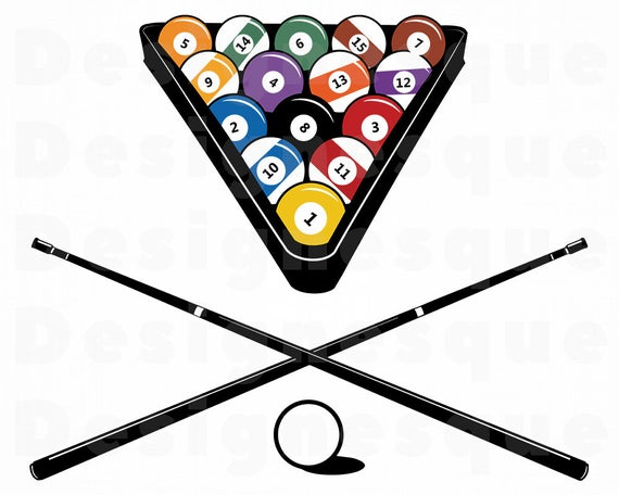 jpg freeuse Billiards clipart. Svg snooker pool files