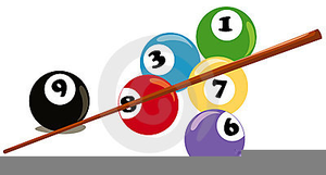 picture black and white library Billiards clipart. Free images at clker