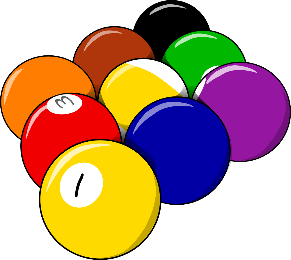 jpg library stock Clip art pool panda. Billiards clipart