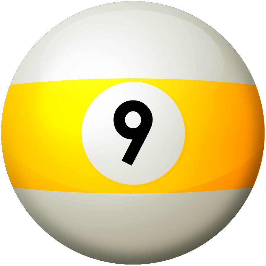 jpg black and white vector pool 9 ball #118376391