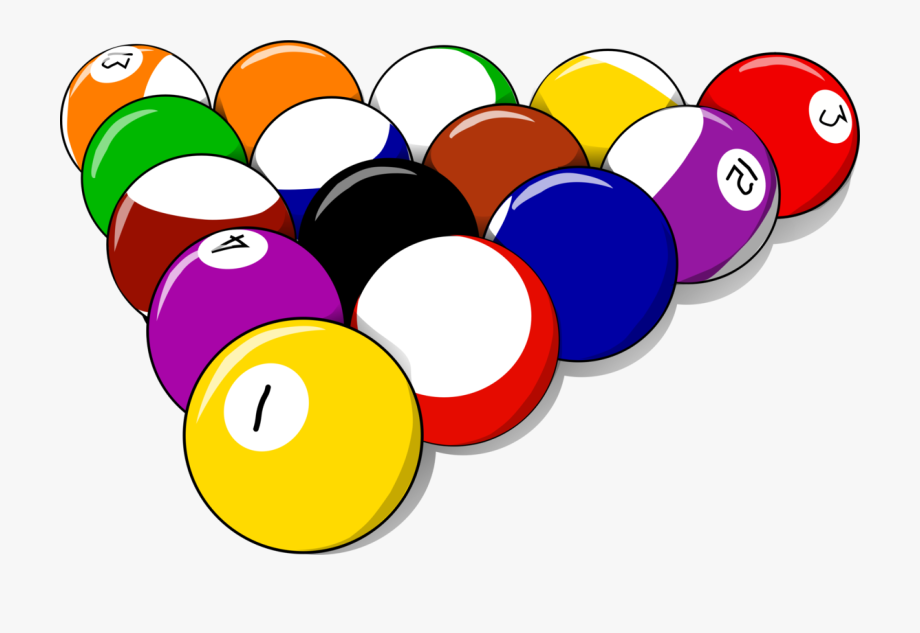 clipart royalty free library Billiards clipart pool game. Ball balls free .