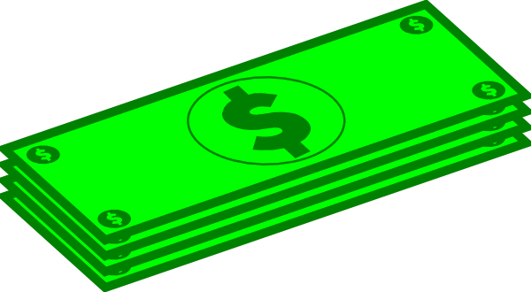 png free library stack of money clipart #65983634