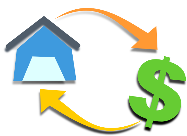 vector library stock Bills clipart loan. Free mortgage credit cliparts.
