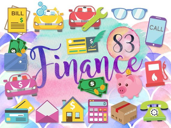 png library library Bills clipart loan.  cute finance money.