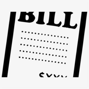 clipart royalty free Bill receipt png free. Bills clipart statement.