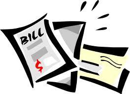 graphic freeuse stock Transparent free . Bills clipart statement.