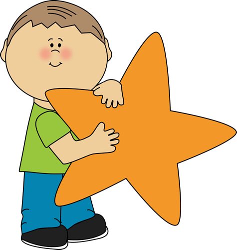 picture freeuse library Star clip art an. Great clipart child award