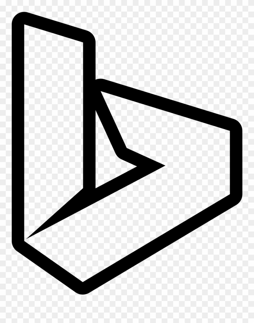image free library Bing clipart symbol. This is a picture.