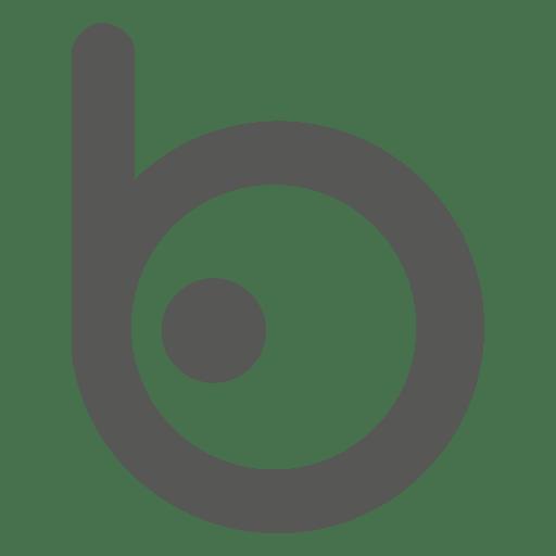 jpg black and white stock Bing clipart symbol. Logo transparent png svg.