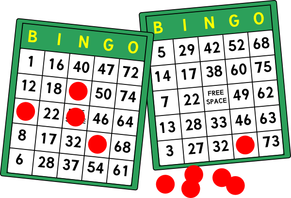 clip art library download Bingo Squares Clipart