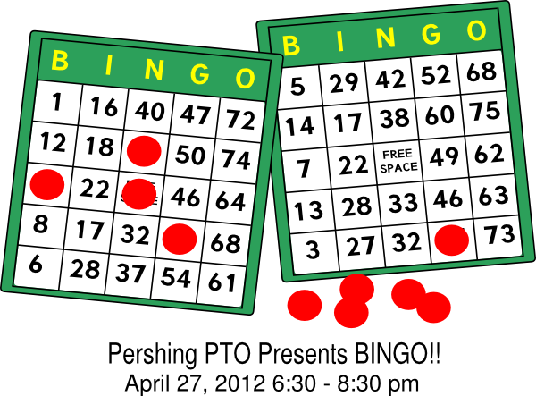 image free stock Pershing clip art at. Bingo vector tomorrow