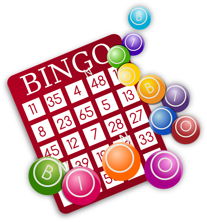 banner royalty free library Bingo vector tomorrow. Family night tuesday june