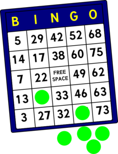 transparent library Bingo vector. Clipart free clipartix