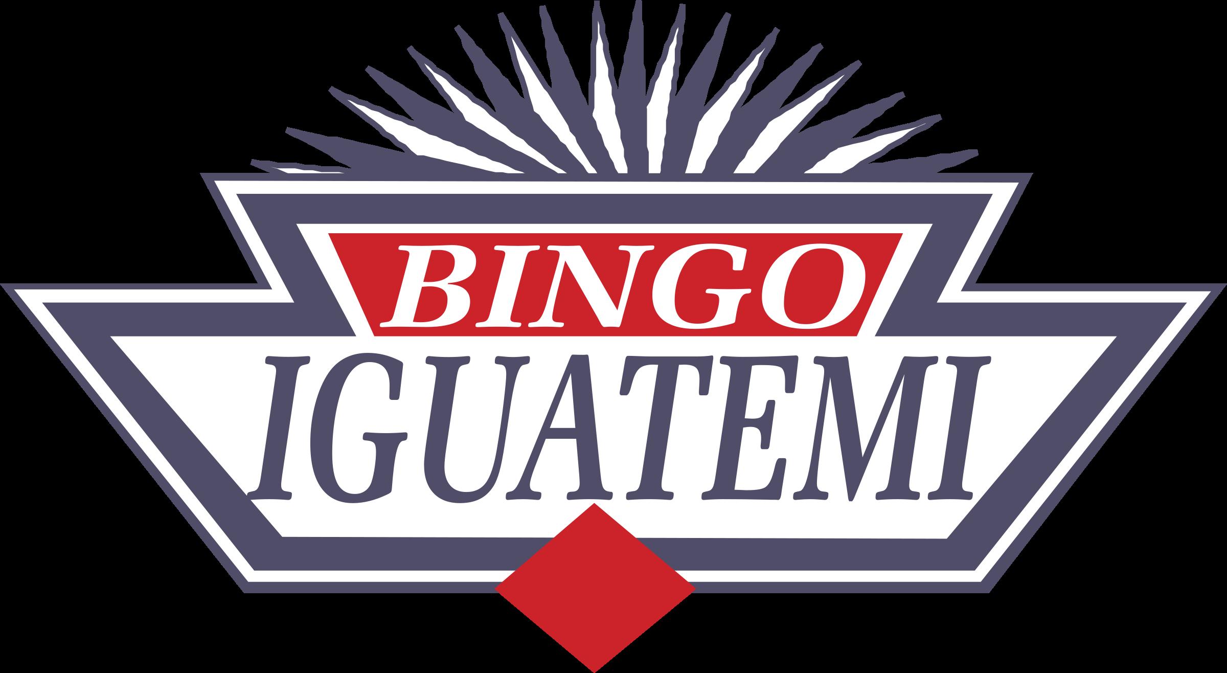 clipart freeuse Bingo vector. Iguatemi logo png transparent