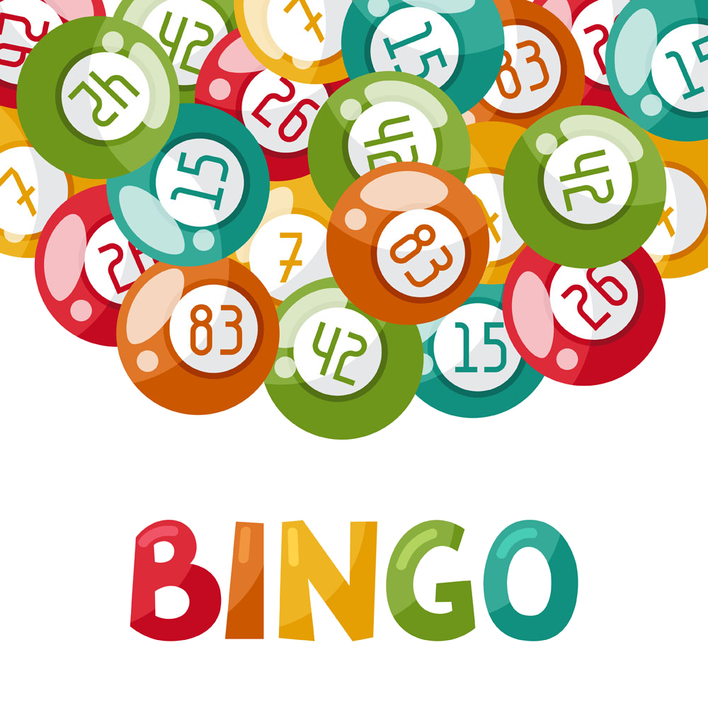 svg black and white library Royalty free lottery illustration. Bingo vector ball