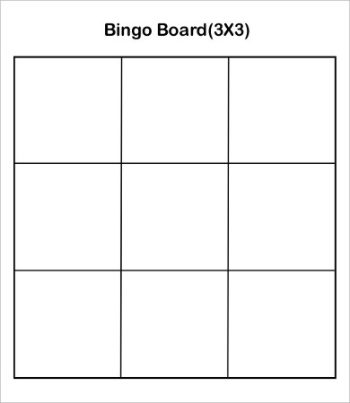 picture freeuse stock Bingo vector board. Card template free word