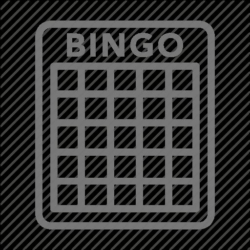 image transparent library Minimal casino by amanda. Bingo vector card