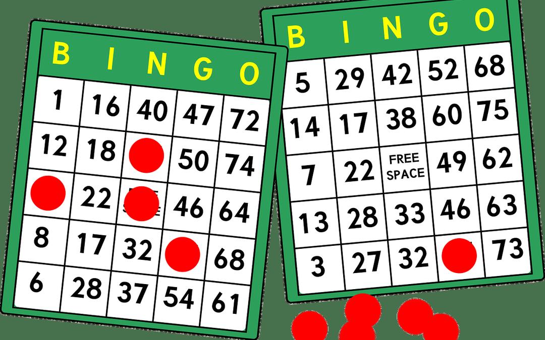 image freeuse February th tvhs golden. Bingo vector fun