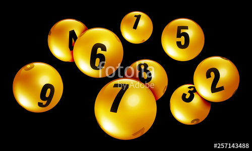 png freeuse download Golden lottery ball stock. Bingo vector gold