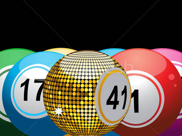 png library Bingo vector gold. Lucky ball illustration elaine