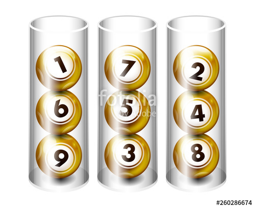 graphic black and white library Bingo vector gold. Golden lottery ball in