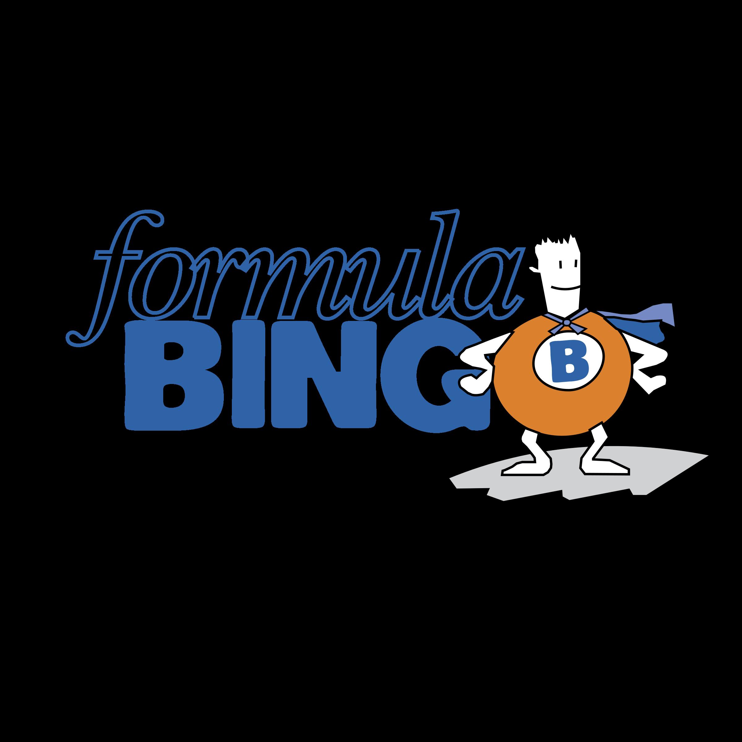 clip transparent library Formula logo png transparent. Bingo vector text