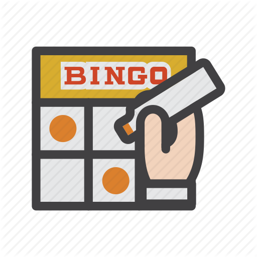 picture library Casino games by flat. Bingo vector wheel