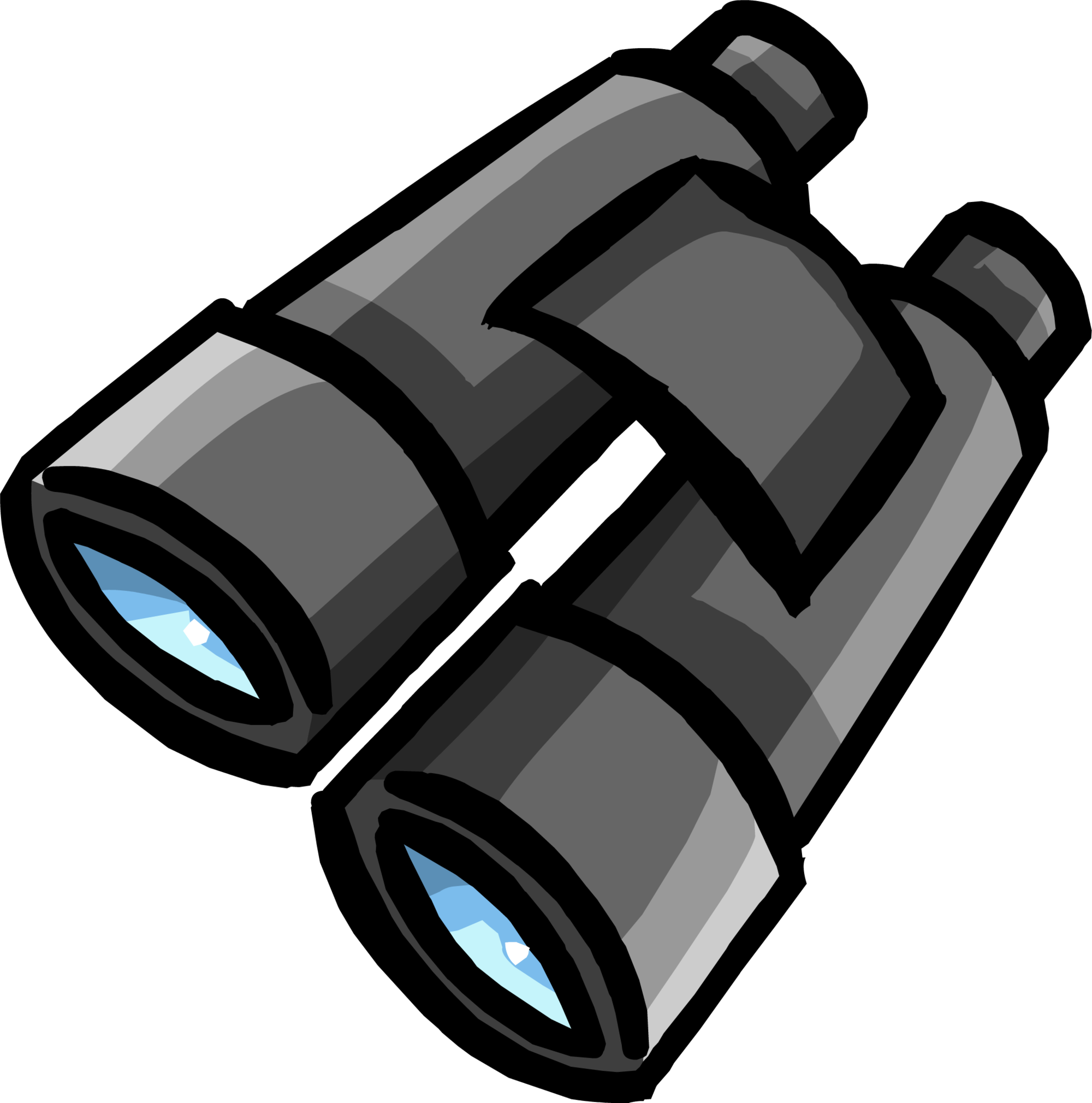 clipart transparent library Image binoculars png club. Binocular clipart.