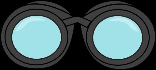 clip art black and white Binocular clipart. Binoculars clip art image.