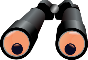 clipart Binoculars jh clip art. Binocular clipart.