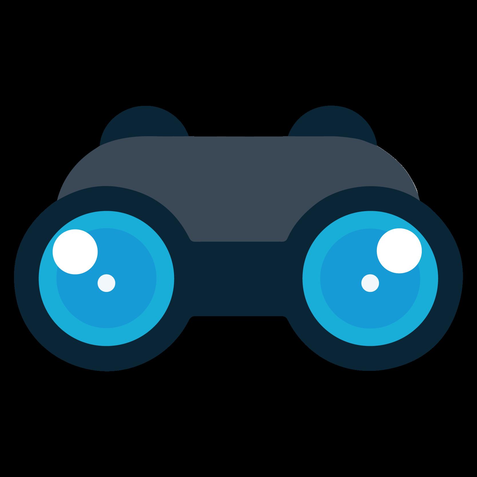 clip transparent download Binocular clipart ambiguity. Binoculars visibility frames illustrations.
