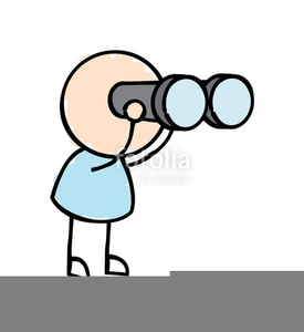 graphic transparent download Man with free images. Binoculars clipart