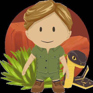vector transparent download Puzzle cari s portfolio. Binoculars clipart explorer jungle.