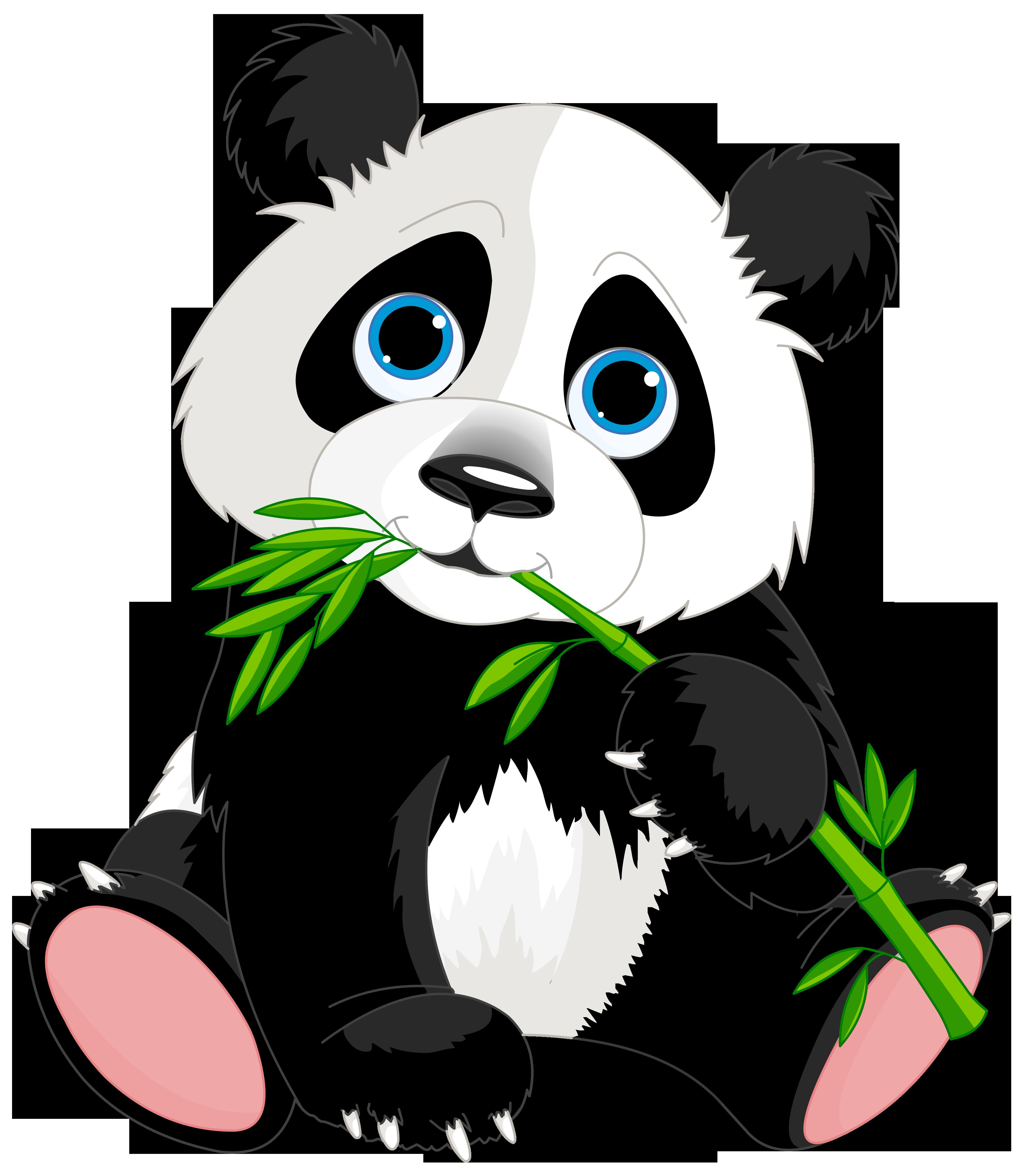 vector stock Cute cartoon image gallery. Panda bear clipart