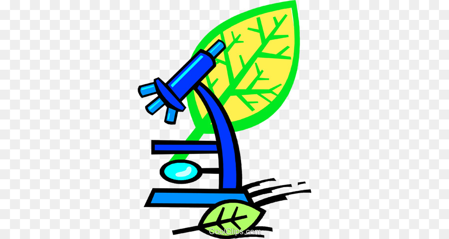 image transparent stock Biology clipart. Microscope cartoon green yellow.