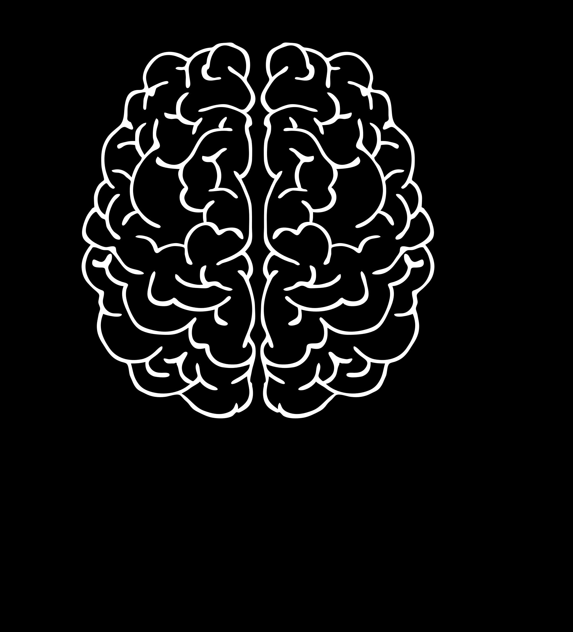 clip library In head big image. Brain clipart man
