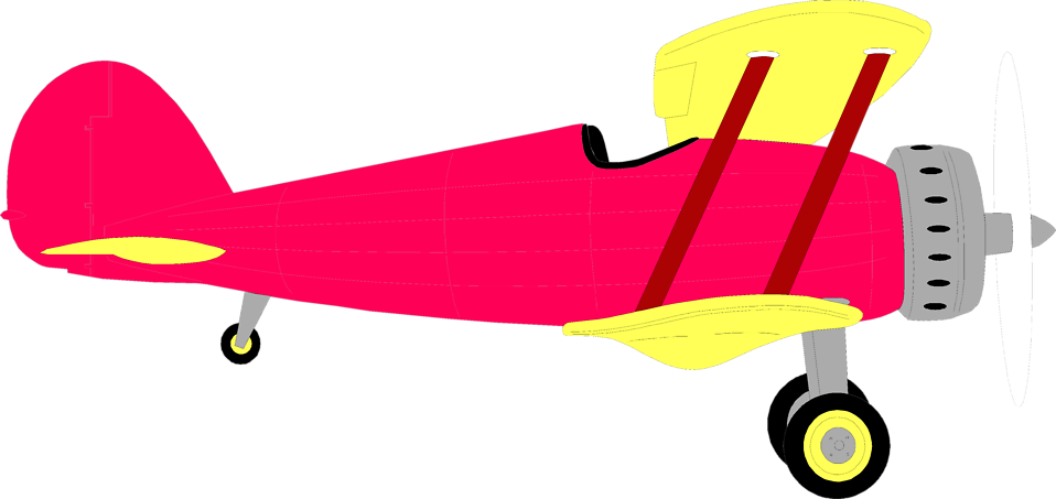 clipart library Biplane