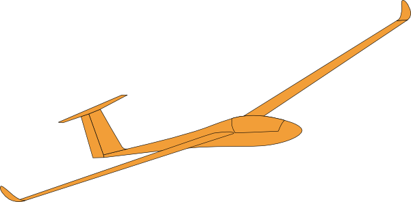 clip art royalty free stock Hang Glider Silhouette at GetDrawings