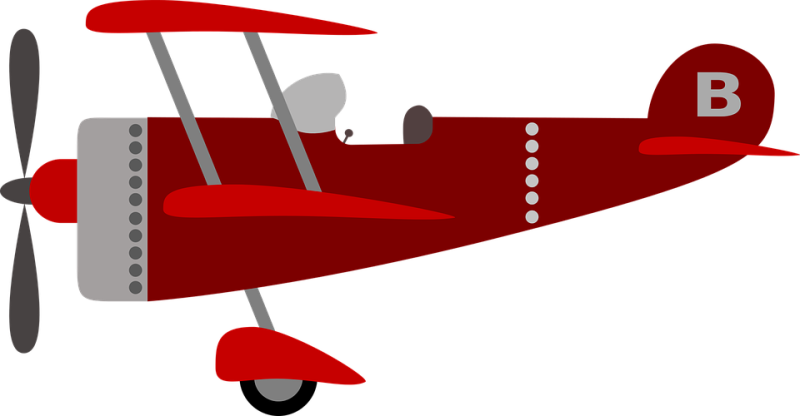 clip library Plane hubpicture pin . Biplane clipart old airplane