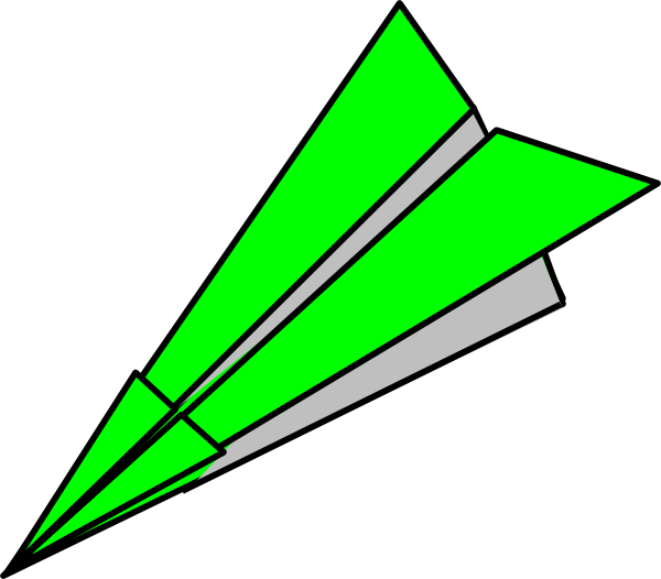 clip art library Paper Airplane Clipart at GetDrawings