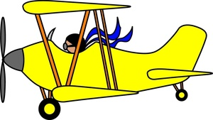 clip art transparent download Biplane clipart yellow. Free airplane cliparts download.