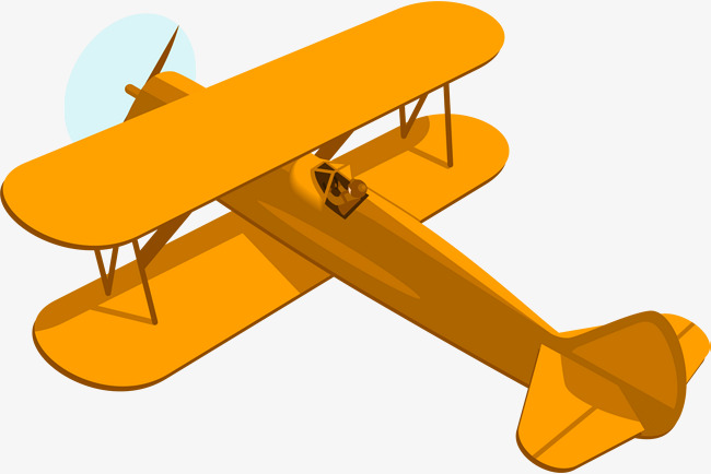 clipart freeuse Transparent free for . Biplane clipart yellow.