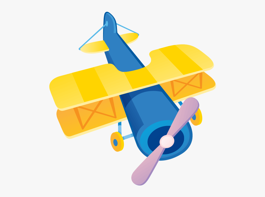 vector royalty free download Free cliparts on . Biplane clipart yellow.