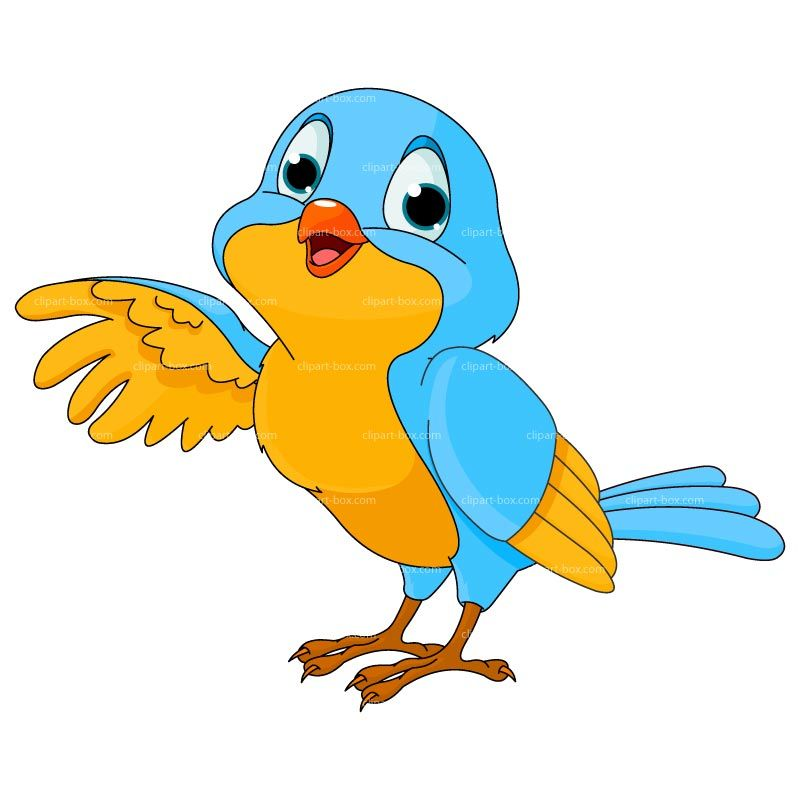 banner free Cartoon royalty free vector. Bird clipart.
