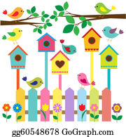 vector library library Birdhouse clipart. Clip art royalty free